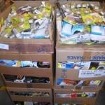 lot de 2500 articles de mercerie et entretien chaussures
