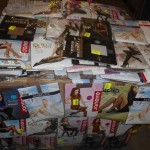 lot de 700 collants, bas, mi bas