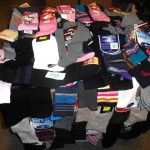 lot de 900 paires de chaussettes