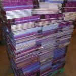 lot de livres sur les régions