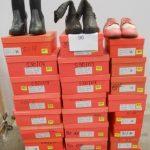 45 paires de chaussures avec boite de marque VANESSA WU - différentes pointures modèles couleurs