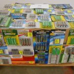 Palette de 200 paquets de piles
