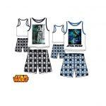 colis de 24 pyjamas Short Star Wars tailles 4 ans à 10 ans