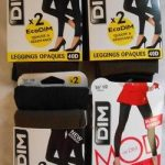 lot de 100 leggings DIM