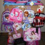 lot de 240 sacs, sacoches, sacs à dos etc … Hello Kitty, Princess, Violleta etc …