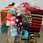 lot de 250 bonnets, gants, echarpes 100% MARQUES LITTLE MARCEL, TRESPASS, ROXY, TRASLUZ…etc