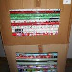 lot de 400 rouleaux de papiers cadeaux