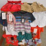palette d'environ 170 pièces de textiles pour enfant baby de marque CATIMINI 425 ht